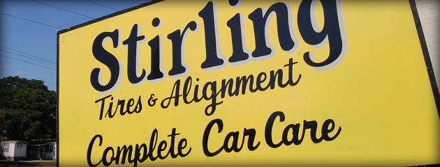 Stirling Tire - Complete Auto Services